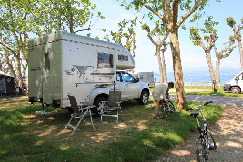 Camping Croatie Acceptant Campin Car