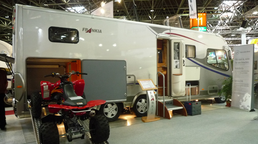 Le salon de d sseldorf for Salon camping car paris