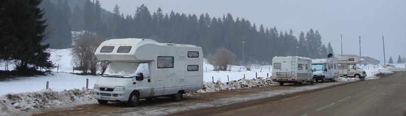 Parking Camping Car Metabief