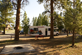 Notre camping à Bryce Canyon, Bryce Canyon Pines