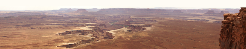 Canyonlands NP, la sublime empreinte à Green River Overlook