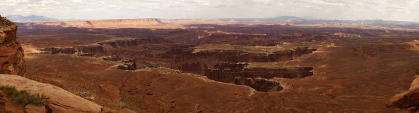 Canyonlands NP, Grand View Point Overlook
